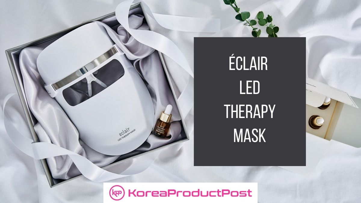 Get Rid of Wrinkles, Fine Lines, Uneven Skin Tone, and Pigmentation with LED Therapy Mask from K-beauty Brand éclair