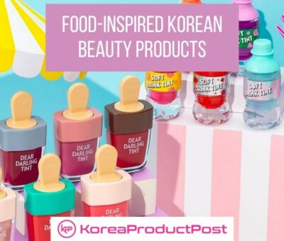 food inspired korean beauty