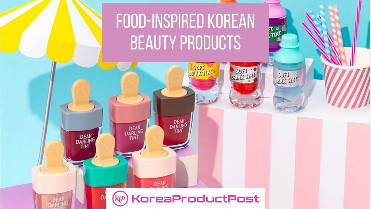 10 Coolest And Cutest Korean Beauty Products Inspired By Food
