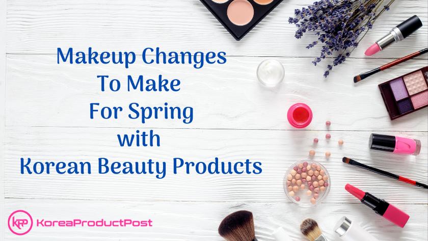 makeup for spring k-beauty