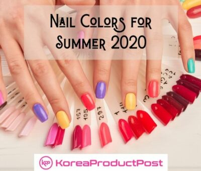 korean nail colors summer