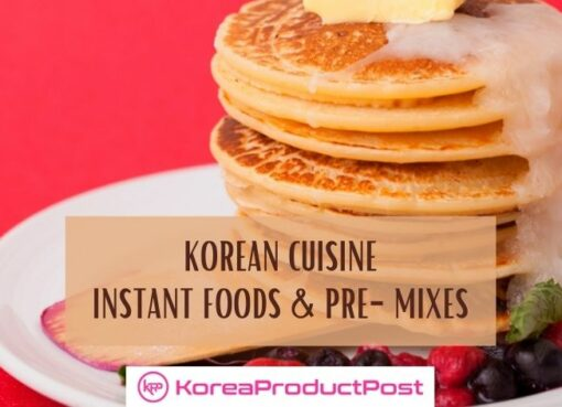 korean pre-mixes and instant foods