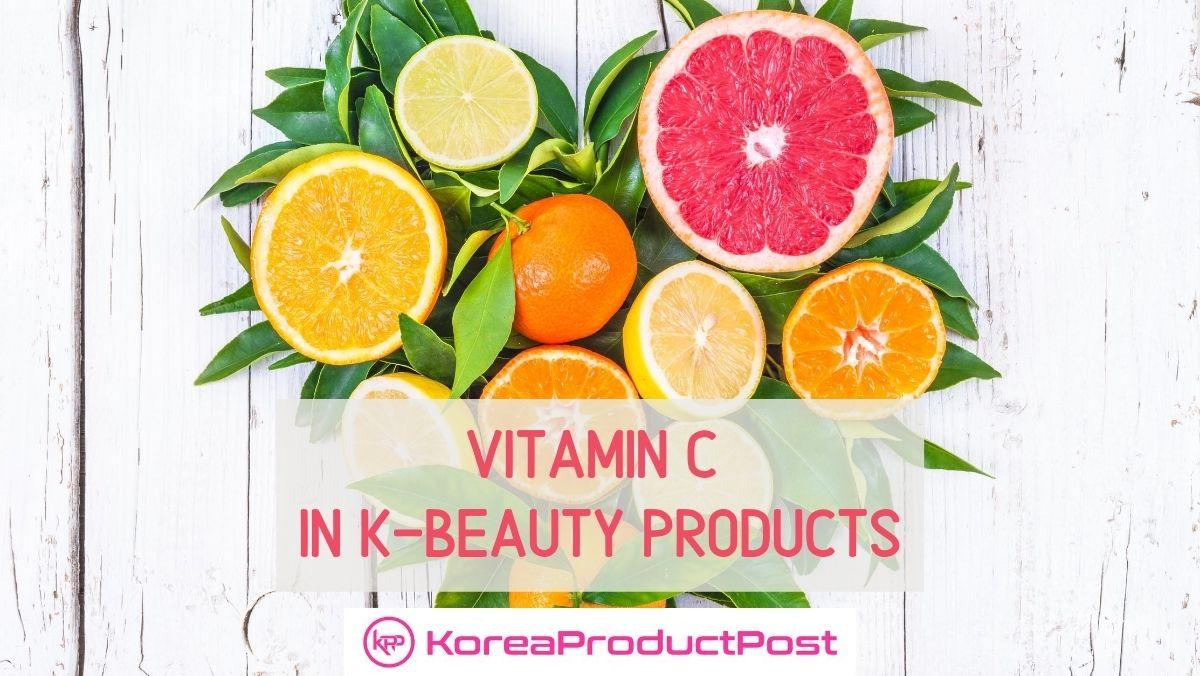 vitamin c in k beauty products