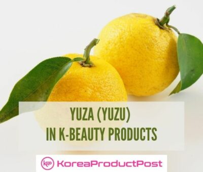 yuza in kbeauty