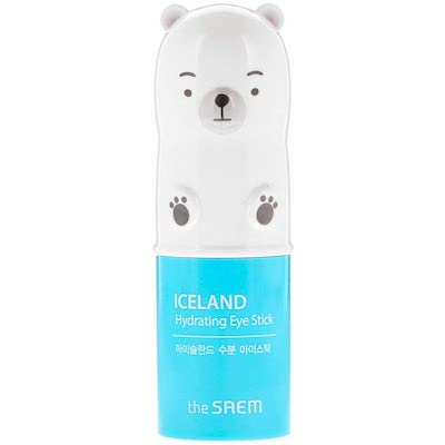 The Saem Iceland Hydrating Eye Stick best korean beauty