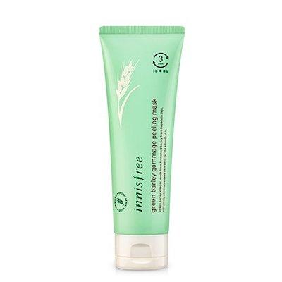Innisfree Green Barley Gommage Peeling Mask K-Beauty Exfoliators Winter