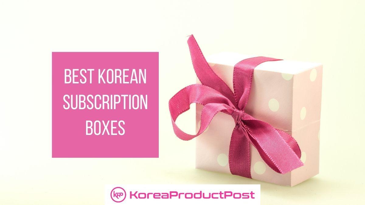 Korean subscription boxes