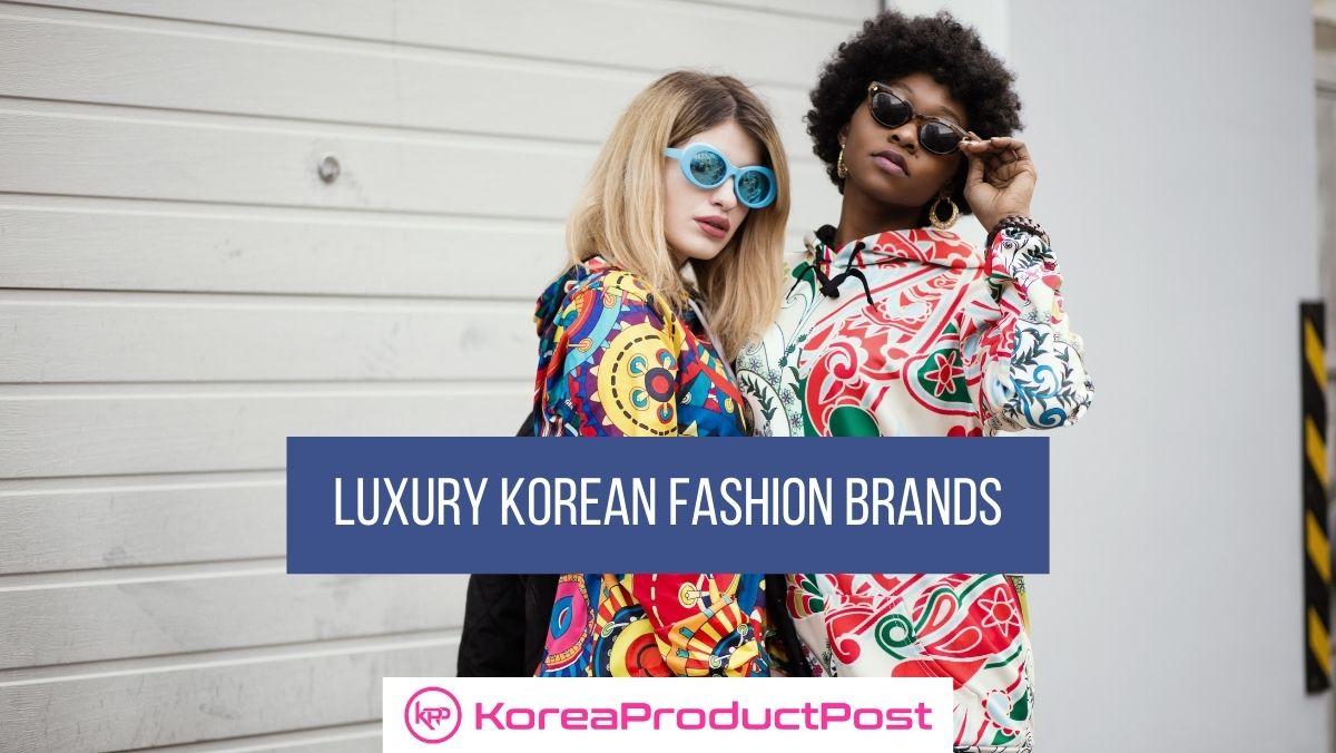 luxury korean fashion brands
