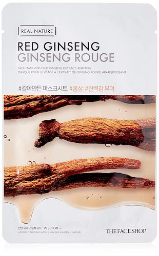 The Face Shop Real Nature Mask Sheet Red Ginseng