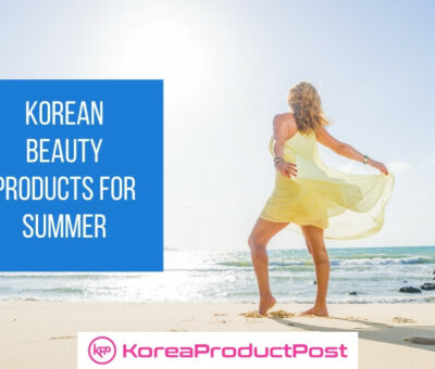 summer korean beauty products
